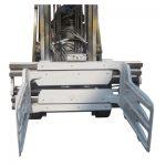 Otočná svorka pro vysokozdvižný vozík