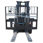 Prodej vysokozdvižného vozíku Hyundai s přídavným zařízením pro umístění vidlic