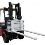 Svorky ramen s bočním posunem s vysokozdvižným vozíkem