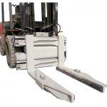 Příchytka hydraulického bloku pro vysokozdvižný vozík