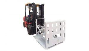 Otáčivé sáčky Odepněte svorku přídavného zařízení pro vysokozdvižný vozík