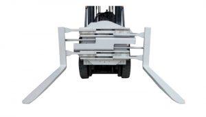 Svorka na vidlice částí vysokozdvižného vozíku