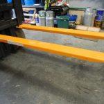 Prodlužovací vidlice pro vysokozdvižné vozíky osha